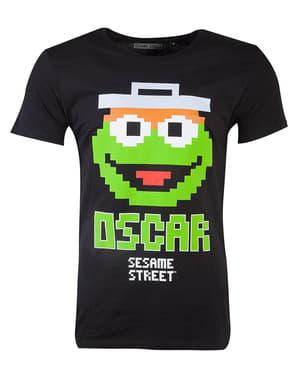 Oscar The Grouch T-shirt til mænd - Sesame Street