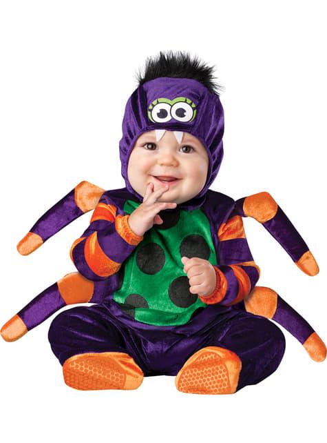Fato de aranhazinha venenosa para bebé