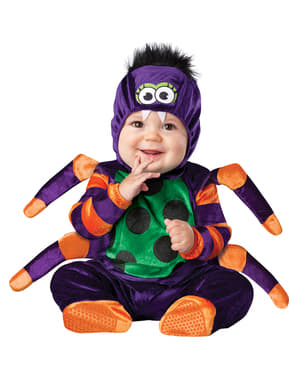 Giftig spinnetje kostuum voor baby's