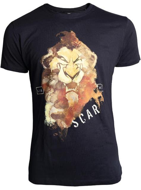 Camiseta de Scar negra para hombre - El Rey León