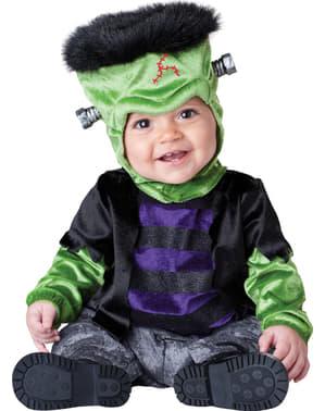 Strój potworek Frankenstein dla niemowlaka