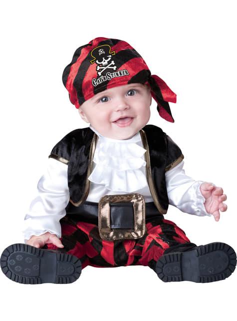 Kostým pro nejmenší pirátský kapitán