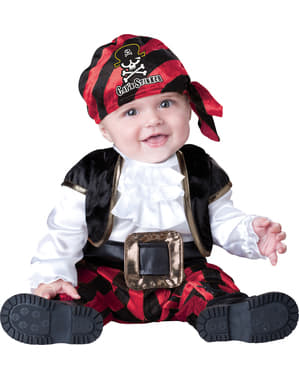 Babies Little Pirate Captain Costume