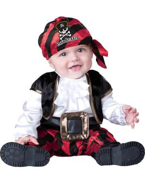 Disfraz de capitán piratita para bebé