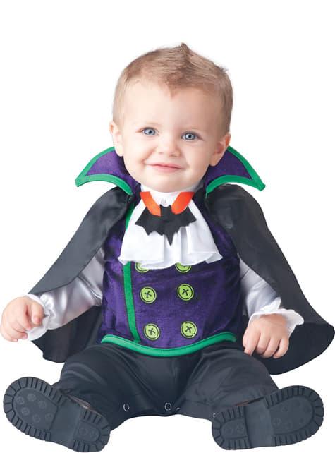 Disfraz de vampiro Draculín para bebé