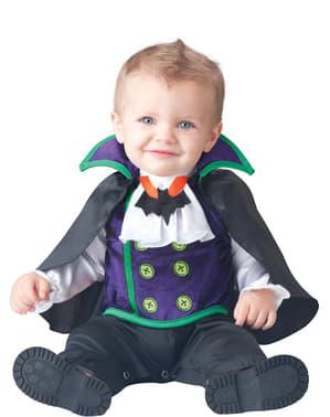 Vampiertje Dracula kostuum voor baby's