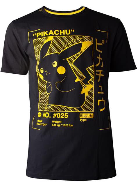 Camiseta de Pikachu silueta para hombre - Pokémon