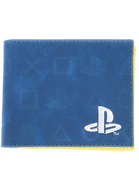 Carteira PlayStation logo para homem