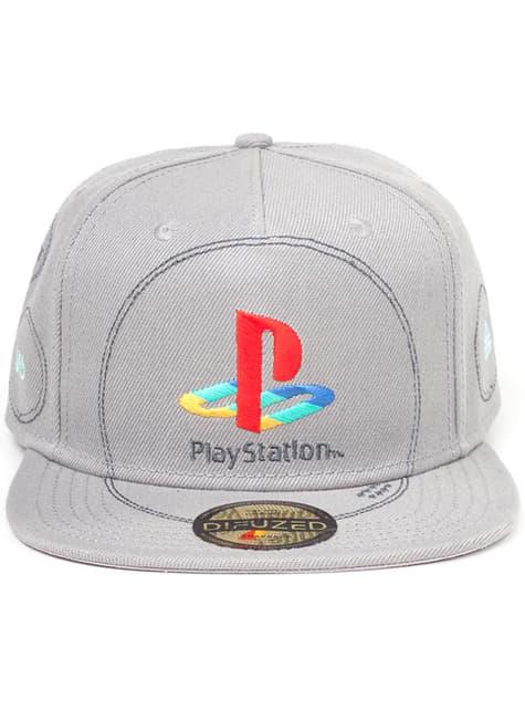 Čepice s logem PlayStation pro muže šedá