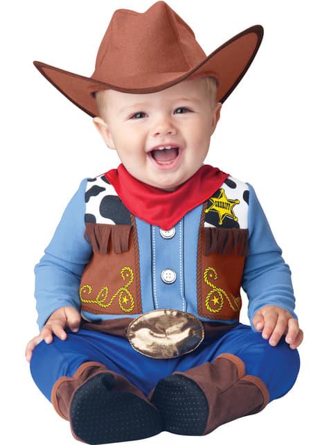 Fato de xerife do Faroeste para bebé