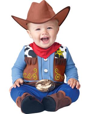 Vilda västern Sheriff Maskeraddräkt Baby