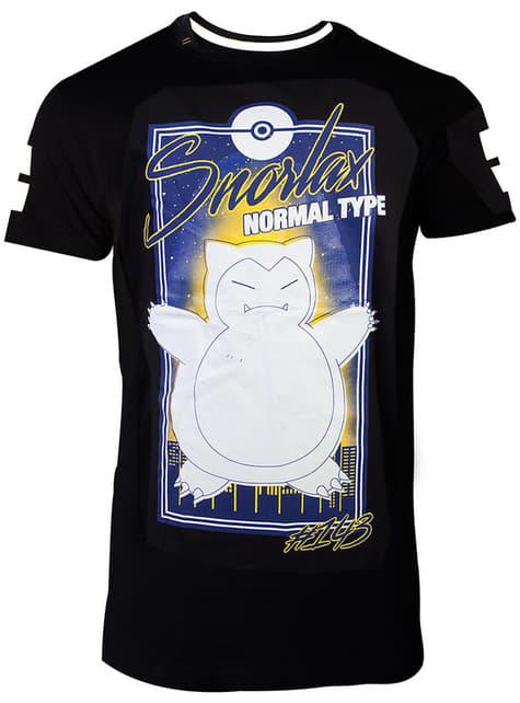 Camiseta de Snorlax city para hombre - Pokémon