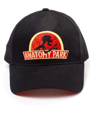 Черна шапка с козирка с Рик и Морти, за възрастни