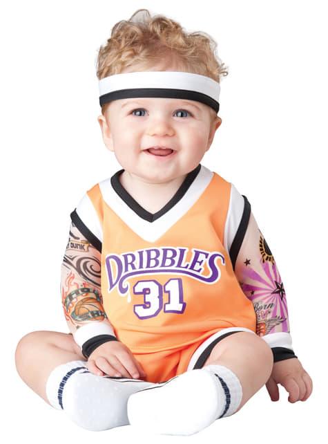 Costume da giocatore di pallacanestro per bebè