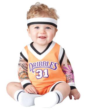 Fato de jogador de basquetebol para bebé