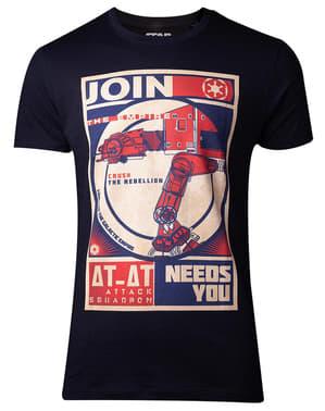 AT-ATインペリアルTシャツ男性用 - スター・ウォーズ