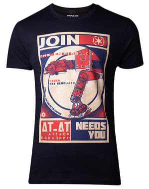 T-shirt At-At impérial +D71:D82homme - Star Wars