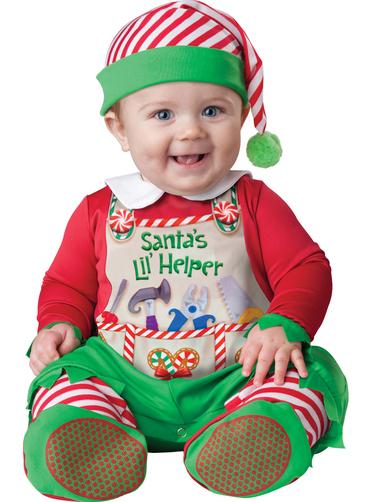 Disfraz de ayudante de santa claus para beb have fun - Disfraz de santa claus para nino ...