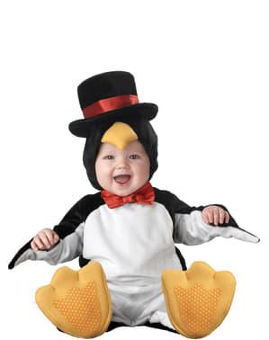 Costum de pinguin cu clasă pentru bebeluși
