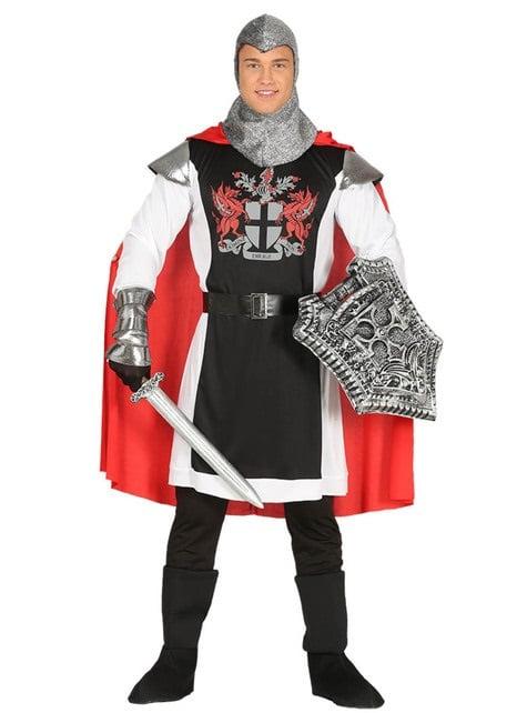 Μεσαιωνικός ιππότης της κοστούμι δράκων για τους άνδρες