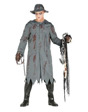 Costum de pescar zombie pentru bărbat