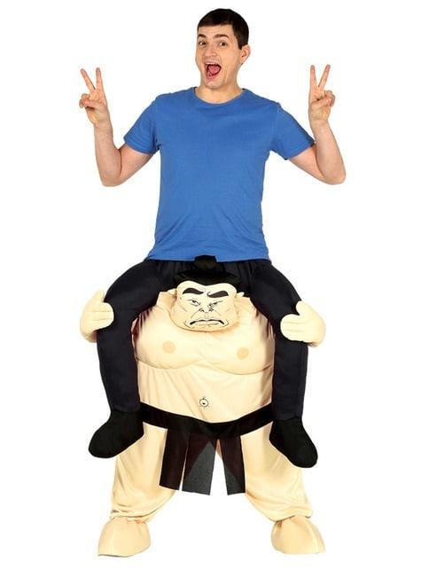 Fato de sumo ride on para adulto