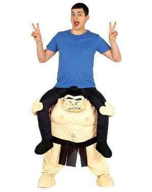 Sumo ri-på kostyme for voksne