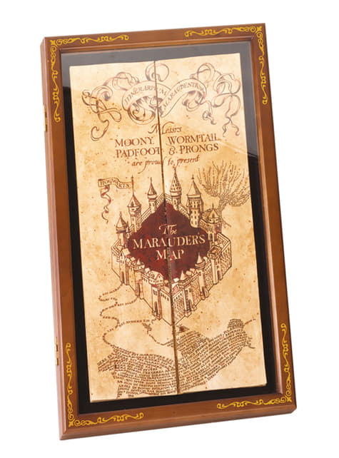 Carte du Maraudeur - Harry Potter
