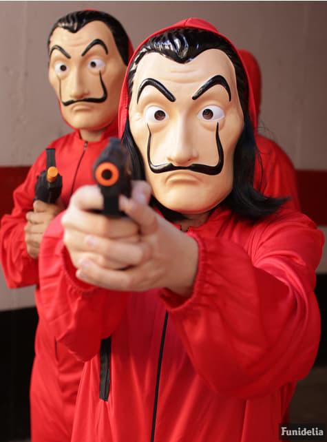 Máscara de Dalí - La Casa de Papel - para tu disfraz