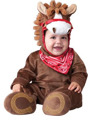 Costum de ponei jucăuș pentru bebeluși