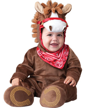 Strój zabawny kucyk dla niemowlaka