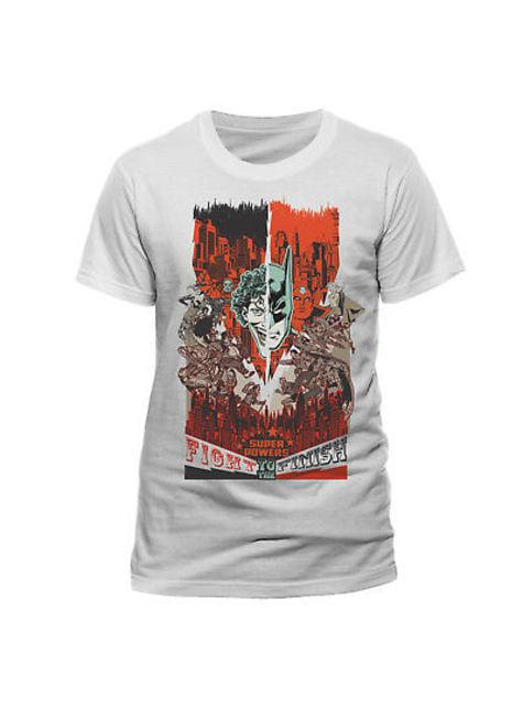 Batman and Joker Fight T-Shirt