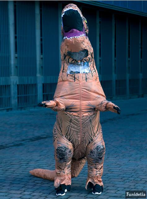 Disfraz de T-Rex hinchable Jurassic World para adulto - traje