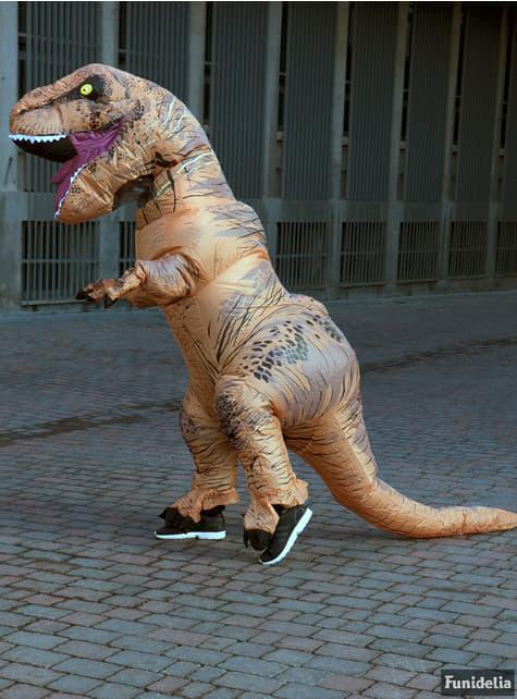 Dmuchany kostium T-Rex Jurassic World dla dorosłych