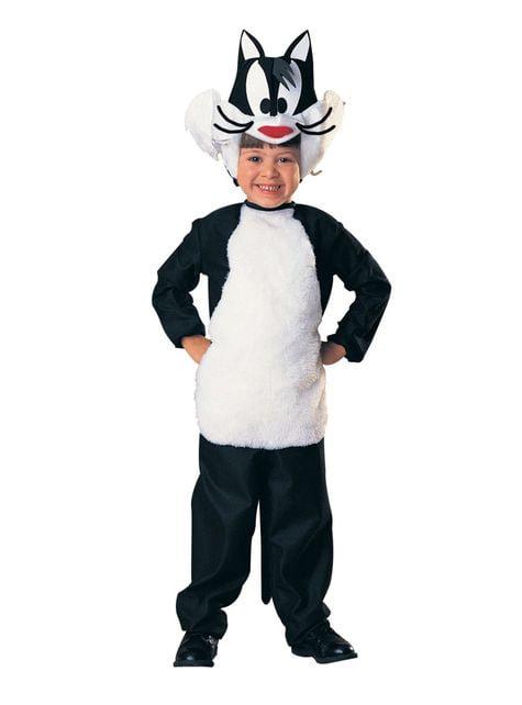 Disfraz de Silvestre Looney Tunes para niño