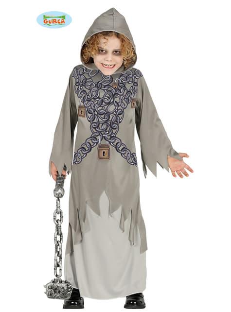 Lænket død kostume til børn
