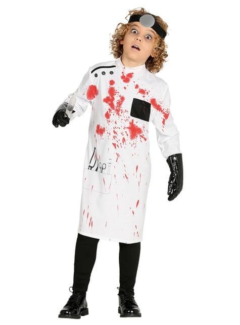 Killer doctor psycho costume for children