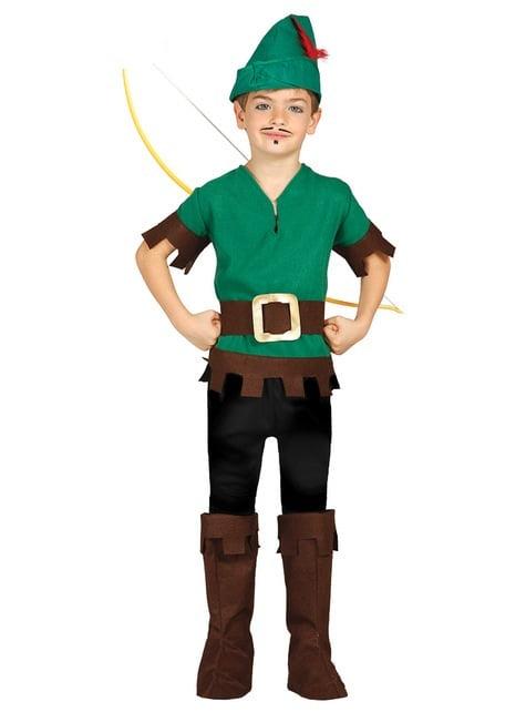 Disfraz de Robin de los bosques para niño