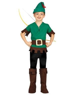 Robin fra skoven kostume til drenge