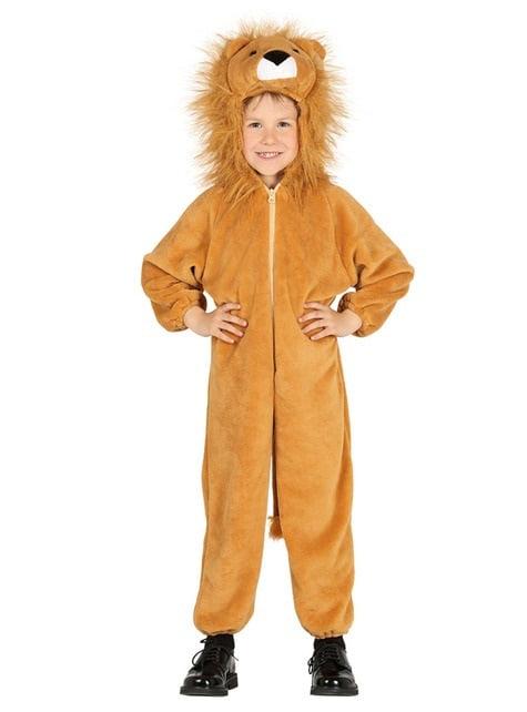 Disfraz de león rey de la selva infantil