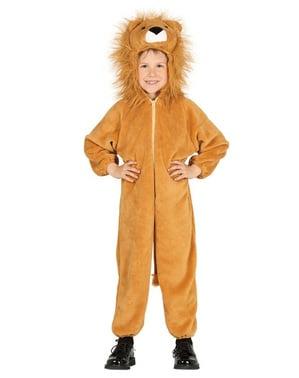 Jungle løvekonge kostume til børn