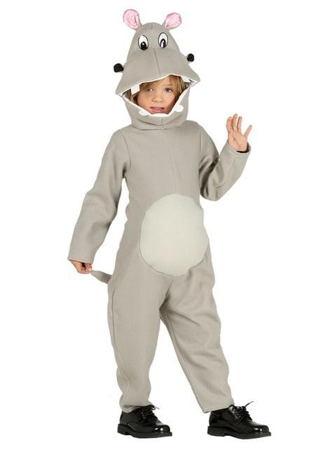 Disfraz de hipopótamo para niños