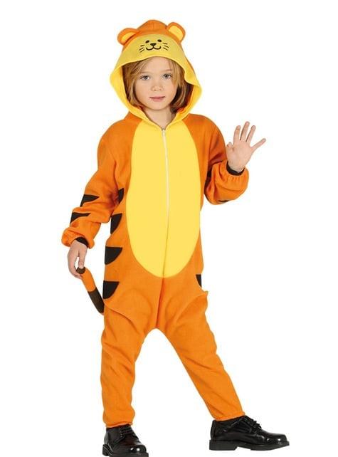 Disfraz de tigre onesie infantil