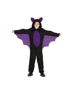 Fato de morcego das cavernas infantil