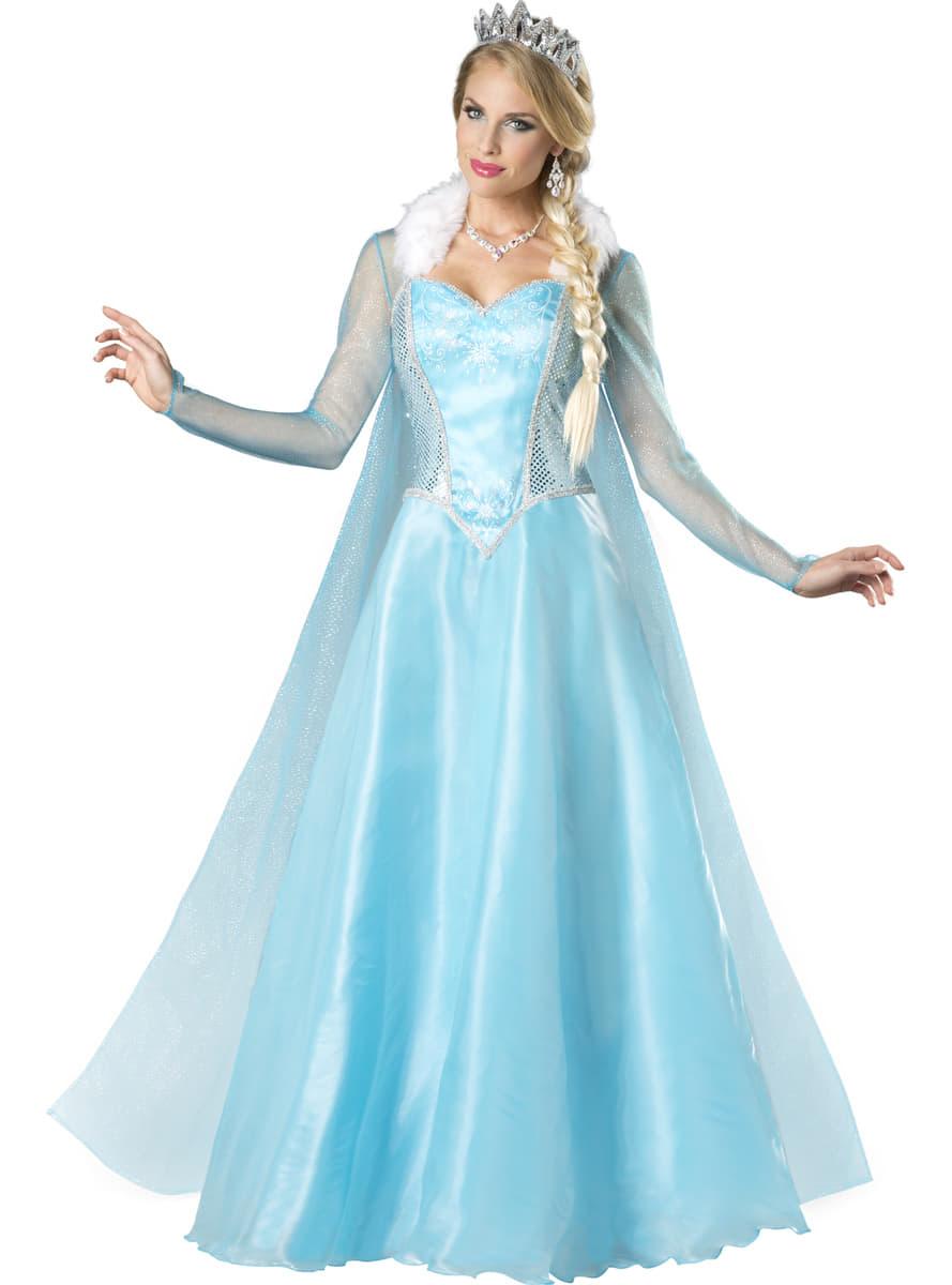 Disfraz de princesa de las nieves para mujer. Have Fun ...