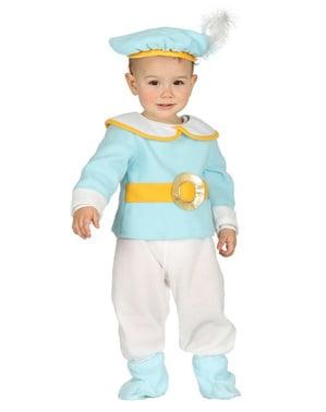 Prins Maskeraddräkt blå för bebis