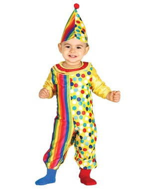 Lovely clown costume for babies