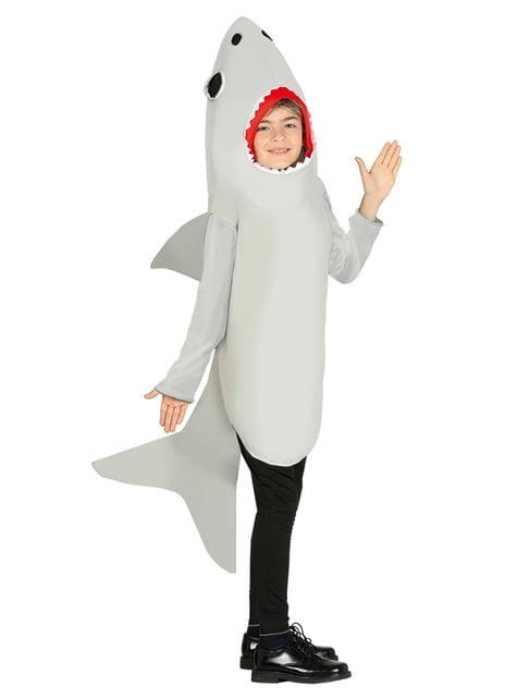 White shark costume for kids