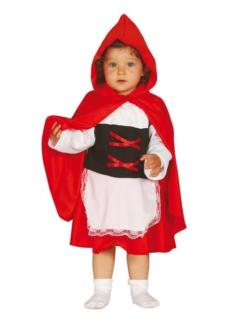 Costum Scufița Roșie pentru bebeluși fată