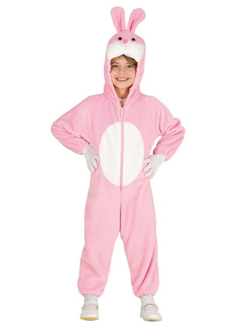 Adorable pink bunny costume for kids